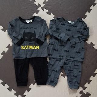 エイチアンドエム(H&M)のH&M ベビー バットマンパジャマ 2枚セット(パジャマ)
