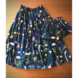 チェスティ(Chesty)の親子お揃い♡フラワープリントスカートセット♡(スカート)