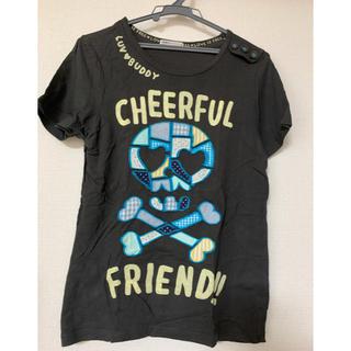 ラフ(rough)のrough ラフ ドクロパッチワークTシャツ(Tシャツ(半袖/袖なし))