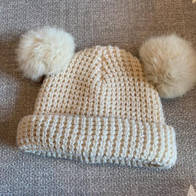 petit main(プティマイン)のプティマイン ニット帽 キッズ/ベビー/マタニティのこども用ファッション小物(帽子)の商品写真