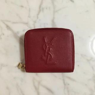 サンローラン(Saint Laurent)のサンローラン 二つ折り財布 赤(財布)