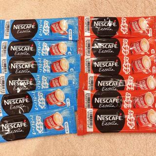 ネスレ(Nestle)のネスカフェ エクセラ スティック コーヒー 12本(コーヒー)