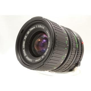 キヤノン(Canon)のCanon NEW FD 35-70mm 1:3.5-4.5(フィルムカメラ)