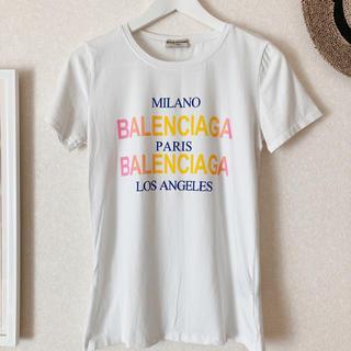 バレンシアガ(Balenciaga)のバレンシアガ 美品Tシャツ(Tシャツ(半袖/袖なし))