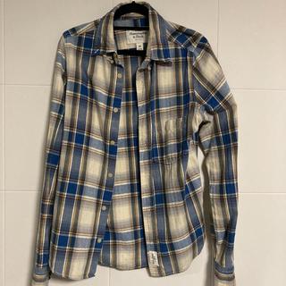 アバクロンビーアンドフィッチ(Abercrombie&Fitch)のチェックシャツ ネルシャツ アバクロ(シャツ)