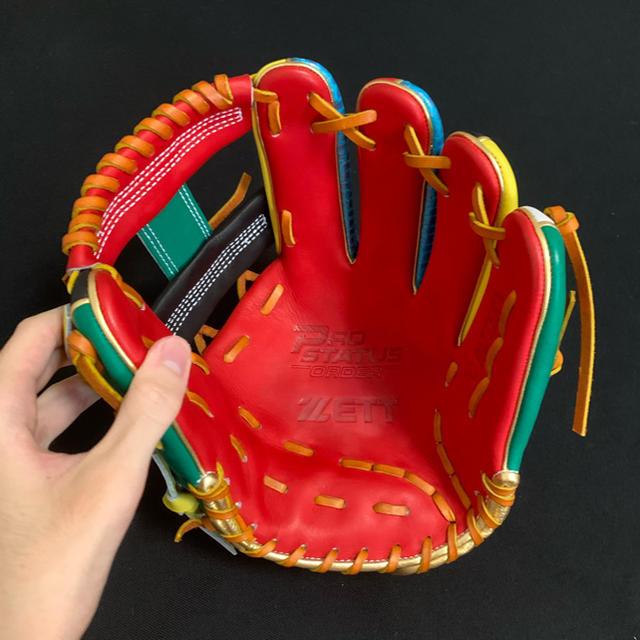 ZETT(ゼット)のプロステイタス  内野手用グラブ スポーツ/アウトドアの野球(グローブ)の商品写真