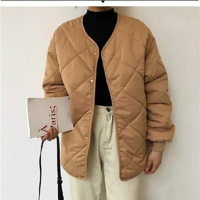 dholic(ディーホリック)のキルティング ノーカラージャケット レディースのジャケット/アウター(ノーカラージャケット)の商品写真
