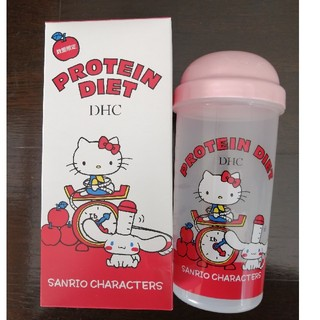 ディーエイチシー(DHC)のDHC プロテインダイエット専用シェーカー数量限定キティちゃん柄(キャラクターグッズ)