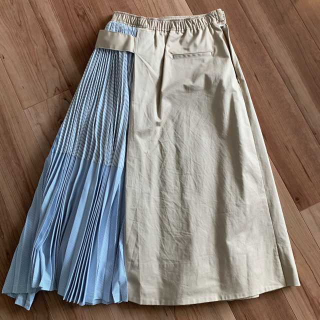 ENFOLD(エンフォルド)のELENDEEK  サイドプリーツスカート レディースのスカート(ロングスカート)の商品写真