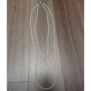 ストロベリーフィールズ(STRAWBERRY-FIELDS)のイミテーションパール 二連ネックレス(ネックレス)