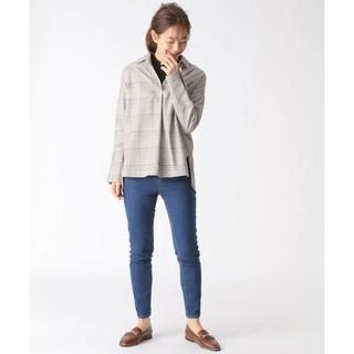 ミスティウーマン(mysty woman)のMISTY WOMAN   チェックシャツ(シャツ/ブラウス(長袖/七分))