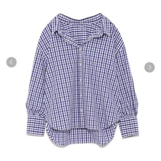Mila Owen - カフスデザインボタンダウンシャツ チェック