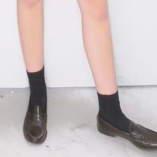【1日限定出品】9/28に消します 高校 靴下 紺ソ 使用済み 中古