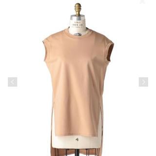 ドゥロワー(Drawer)の今季 Drawer コットンポンチノースリーブプルオーバー(Tシャツ(半袖/袖なし))