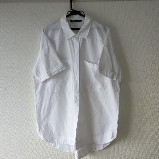 ザラ(ZARA)のZARA ビッグシャツ ザラ 白シャツ(シャツ/ブラウス(半袖/袖なし))