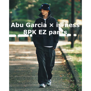 イズネス(is-ness)のAbu Garcia × is-ness 8PK EZ pants UOMO掲載(その他)
