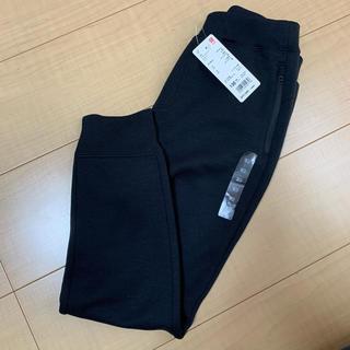 UNIQLO - 【新品未使用】ユニクロ 130 KIDS ドライストレッチスウェットパンツ 黒