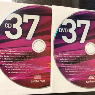 ズンバ(Zumba)のズンバ ZIN37  CD.DVD(スポーツ/フィットネス)