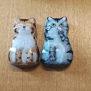 カルディ(KALDI)のカルディ 猫缶(小物入れ)