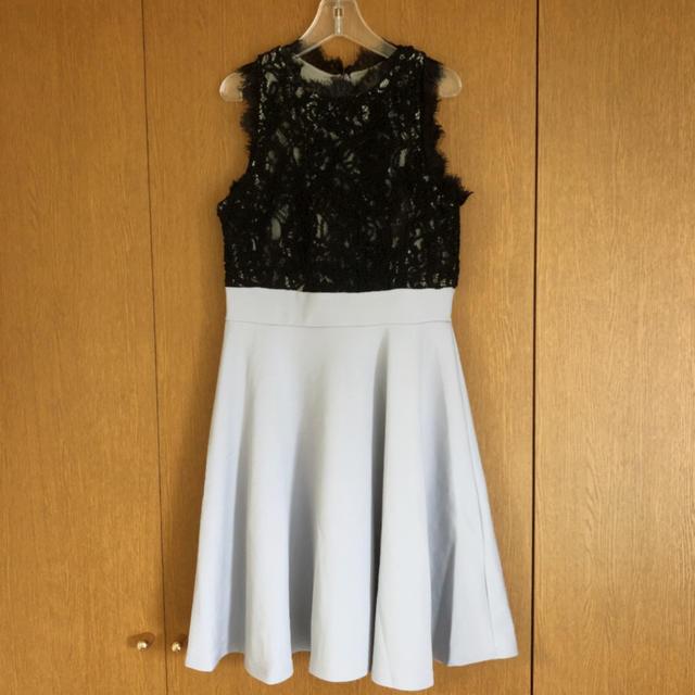dazzy store(デイジーストア)のdazzy Aラインミニドレス 美品 レディースのフォーマル/ドレス(ミニドレス)の商品写真