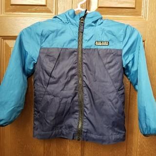 エムピーエス(MPS)のMPS ウィンドブレーカー ジャンパー 110紺 青中綿なし フリース(ジャケット/上着)