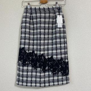 ノエラ(Noela)のNoela♡レースMIXチェックスカート(ひざ丈スカート)