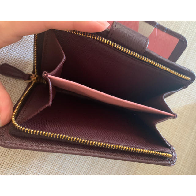 PRADA(プラダ)のPRADA プラダ 二つ折り財布 レディースのファッション小物(財布)の商品写真
