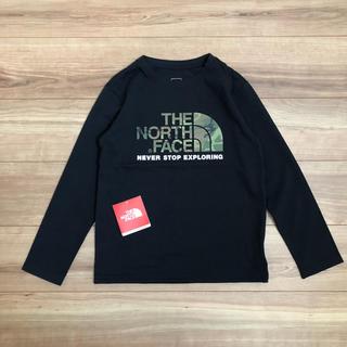 THE NORTH FACE - ▶︎momomo様専用  ノースフェイス キッズ カモロゴT ブラック