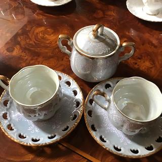 オアグローリー(or Glory)のレトロ コーヒーカップ 砂糖入れ (グラス/カップ)