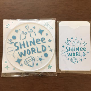 シャイニー(SHINee)のSHINee   コースター、カードケース(K-POP/アジア)