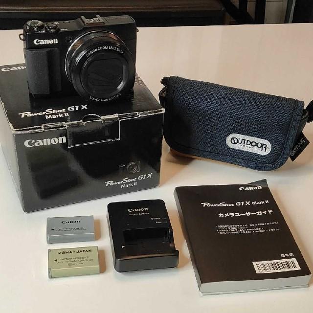 Canon(キヤノン)のCanon PowerShot G POWERSHOT G1 X MARK 2 スマホ/家電/カメラのカメラ(デジタル一眼)の商品写真