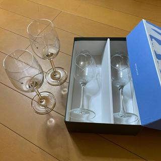 ウェッジウッド(WEDGWOOD)のMyk様専用 ウェッジ ウッド ワイングラス 4客(グラス/カップ)