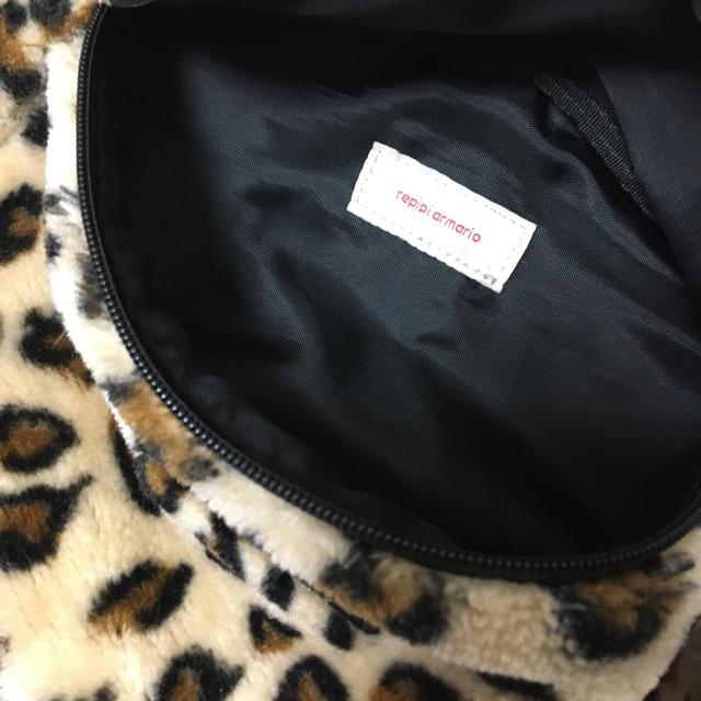 repipi armario(レピピアルマリオ)のREPIPI  ウエストボアバッグ レディースのバッグ(ボディバッグ/ウエストポーチ)の商品写真
