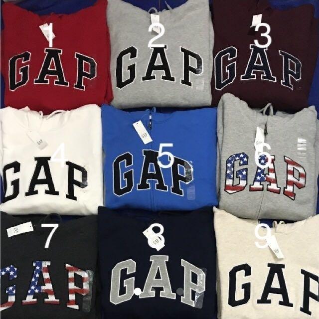 GAP(ギャップ)の【新品未使用タグ付き正規品 4枚セット】GAPパーカー メンズのトップス(パーカー)の商品写真