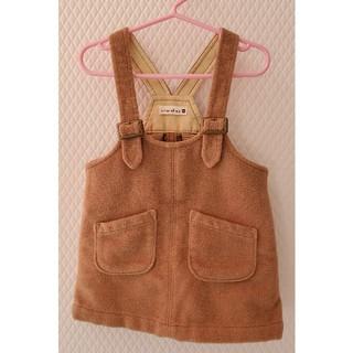 ブランシェス(Branshes)の子供服90cm|冬服(スカート)