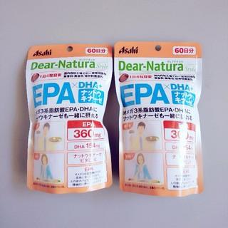 アサヒ(アサヒ)のディアナチュラスタイル EPA×DHA +ナットウキナーゼ60日分240粒×2(その他)