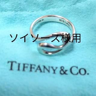 Tiffany & Co. - ティファニー シルバー リング 指輪 百貨店