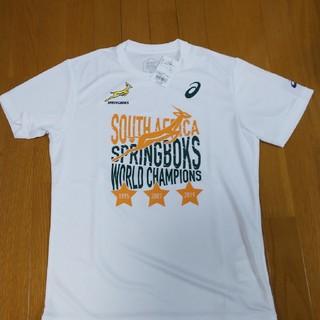 アシックス(asics)のラグビーワールドカップTシャツ。南アフリカ(ラグビー)