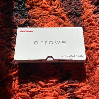 NTTdocomo - 最新 Arrows be4   simフリー