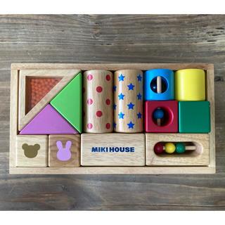 ミキハウス(mikihouse)のmiki houseミキハウス積み木(知育玩具)