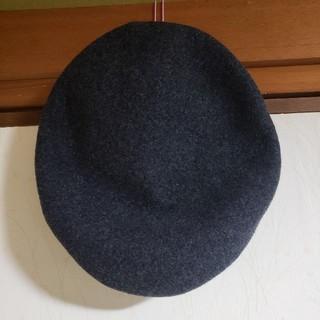 グレイル(GRL)の【未使用】GRL グレイル ビックベレー帽(ハンチング/ベレー帽)