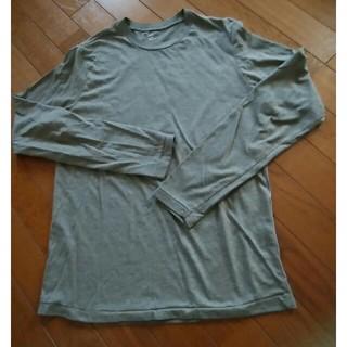 ギャップ(GAP)のGAP 長袖Tシャツ Sサイズ チャコールグレー(Tシャツ/カットソー(七分/長袖))