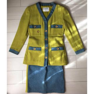 CHANEL - CHANELヴィンテージ ウールジャケット、スカート