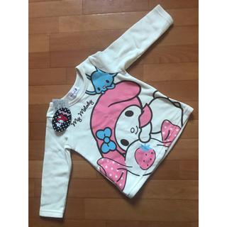 マイメロディ(マイメロディ)のマイメロディ 裏起毛長袖トレーナー 95サイズ(Tシャツ/カットソー)