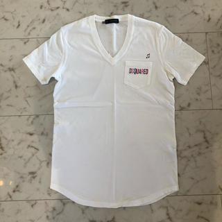 ディースクエアード(DSQUARED2)のDSQUARED2  ディースクエアード Tシャツ S(Tシャツ/カットソー(半袖/袖なし))