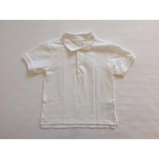 MUJI (無印良品) - 無印良品 鹿の子 ポロシャツ 120cm