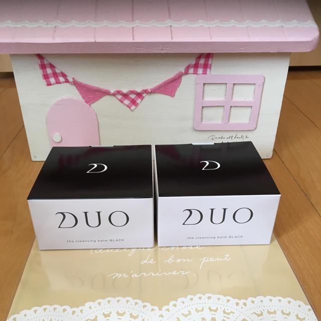 DUO クレンジングバーム ブラック90g ×2個 コスメ/美容のスキンケア/基礎化粧品(クレンジング/メイク落とし)の商品写真
