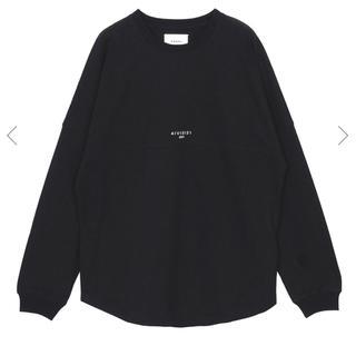 アメリヴィンテージ(Ameri VINTAGE)の新品未開封 Ameri BACK PRINT BASEBALL TEE ブラック(Tシャツ(長袖/七分))