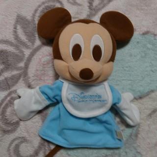 ディズニー(Disney)のディズニー ミッキーパペット 限定ミッキー(ぬいぐるみ)