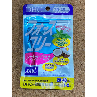 DHC - DHC フォースコリー ソフトカプセル